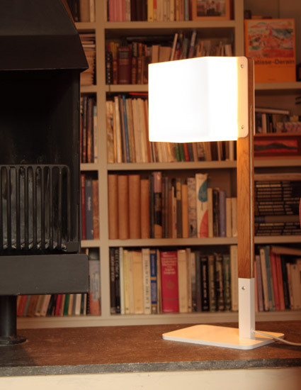Lighthouse T Table lamp by Luz Difusión | General lighting