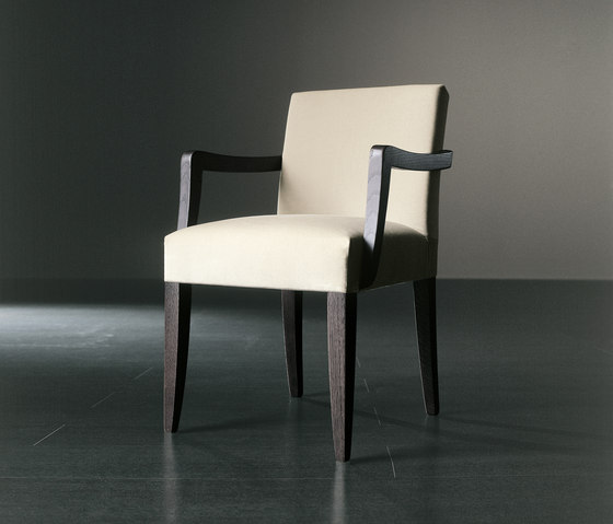 Kerr Due Chair by Meridiani | Visitors chairs / Side chairs