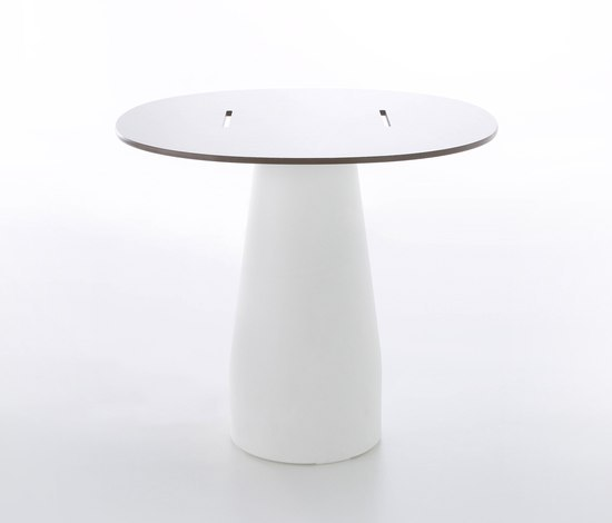 Equal round table* by GANDIABLASCO | Cafeteria tables