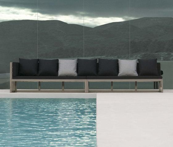 Saler canapé modular 1 | 4 de GANDIABLASCO | Sofas de jardin