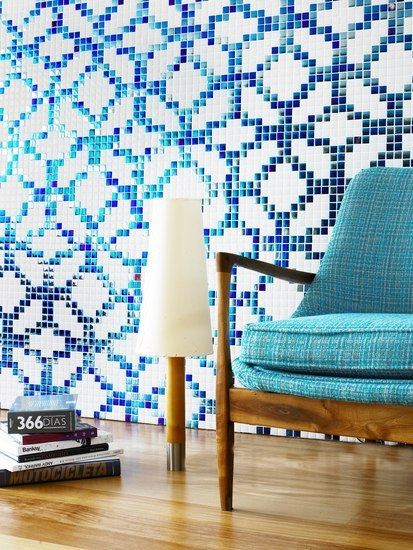 Style - Arabesque by Hisbalit | Glass mosaics