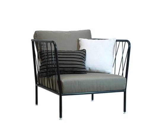 Nido Armchair by Expormim | Garden armchairs