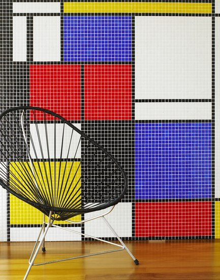 Geometric - Mondrian by Hisbalit | Glass mosaics