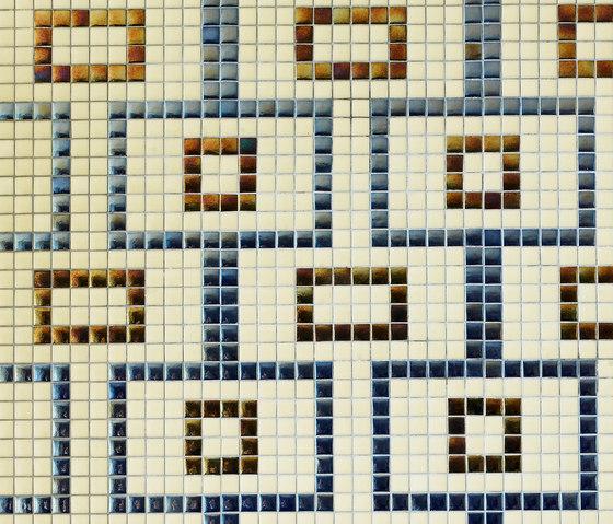 Geometric - Rodas de Hisbalit | Mosaicos de vidrio
