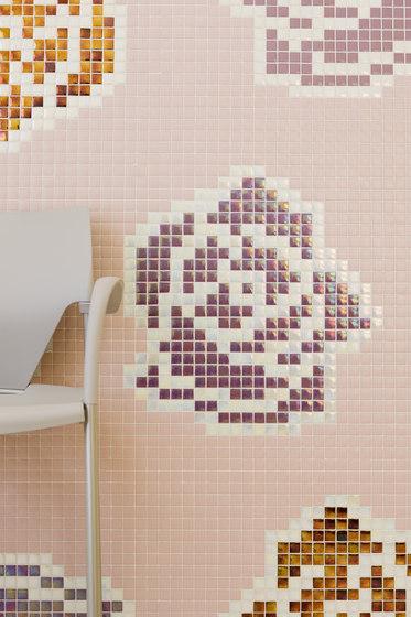 Natural - Roses von Hisbalit | Glas Mosaike