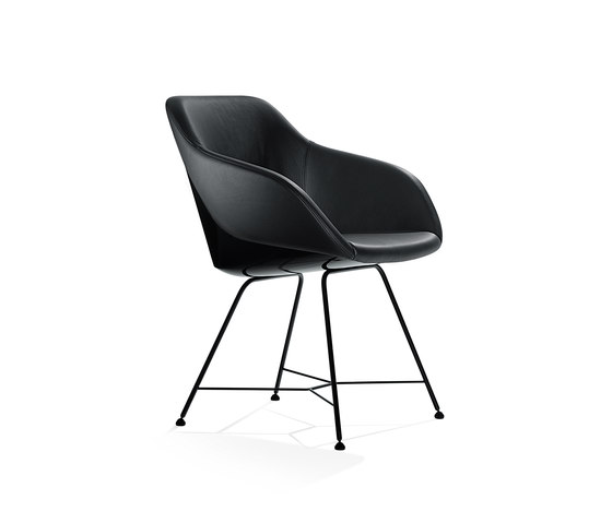 Black Series Turtle by Walter Knoll | Visitors chairs / Side chairs