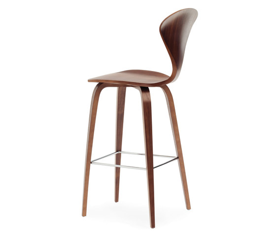 Cherner Wood Base Stool von Cherner | Barhocker