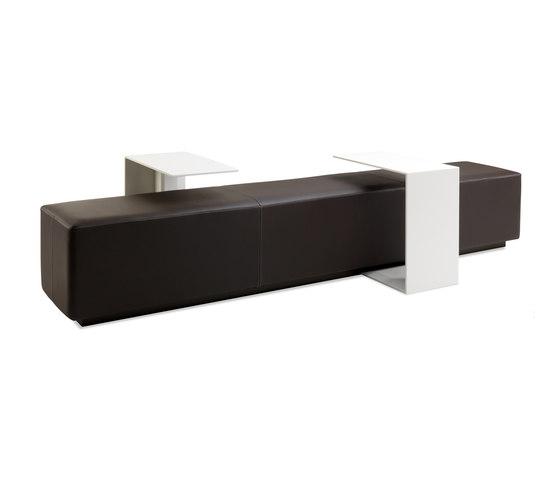 BLACKBOX bench di JENSENplus | Panche attesa