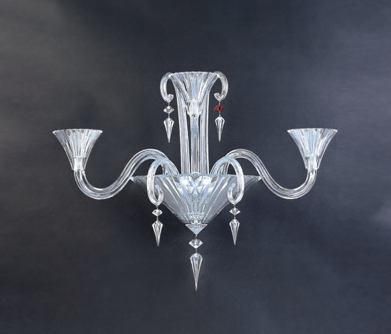 Mille Nuits by Baccarat | Wall-mounted chandeliers