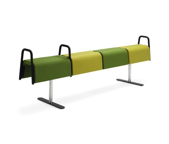 Plint Beam by Materia | Waiting area benches