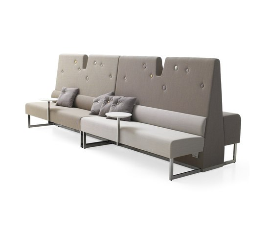 Le Mur sofa by Materia | Modular seating elements