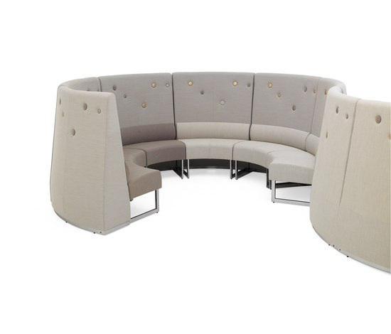Le Mur sofa by Materia | Modular seating systems