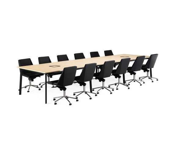 Angle conference table by Materia | Conference tables