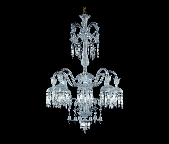 Solstice by Baccarat | Ceiling suspended chandeliers