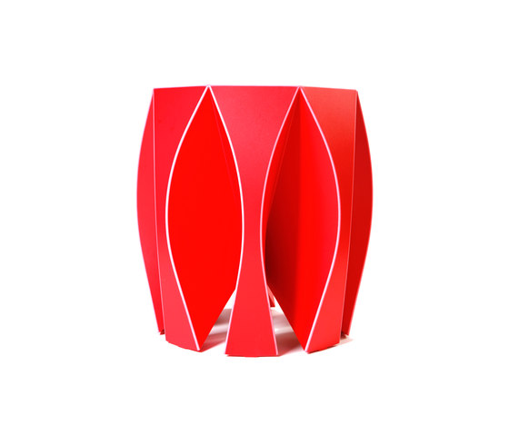 NOOK stool red by VIAL | Stools