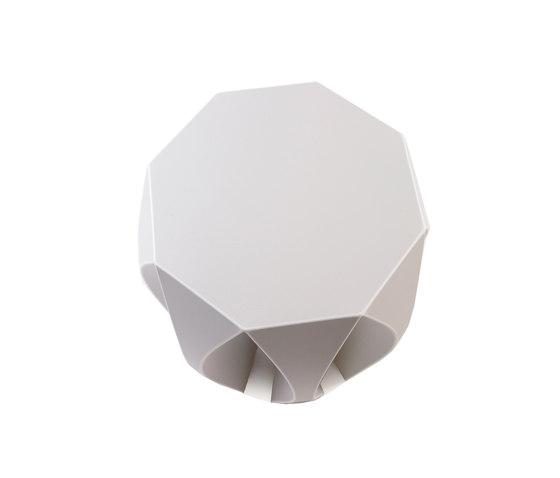 NOOK stool white di VIAL | Sgabelli da giardino