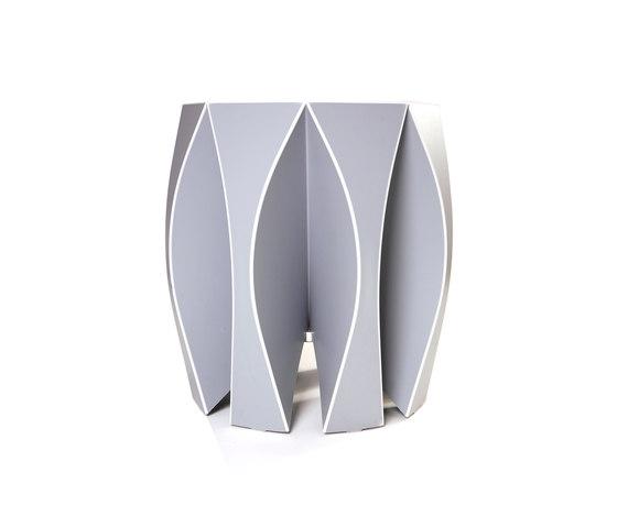 NOOK stool grey de VIAL | Tabourets de jardin