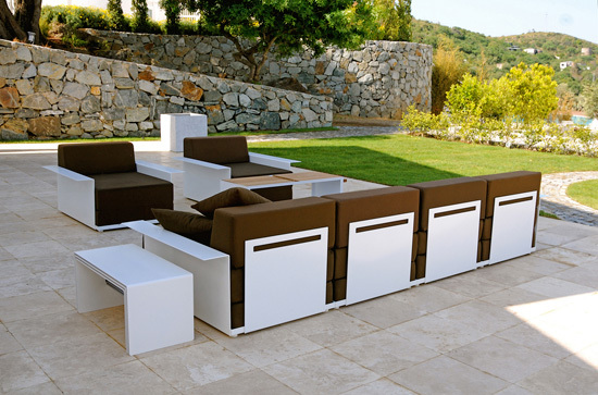 4 inside & out de Radius Design | Sofas de jardin