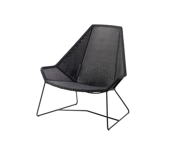 Breeze Highback Chair by Cane-line | Garden armchairs