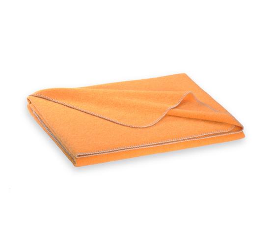 Alina blanket mango by Steiner | Plaids / Blankets