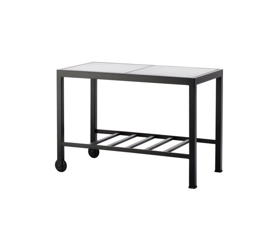 Elements BBQ Serving Trolley by Cane-line | Tea-trolleys / Bar-trolleys