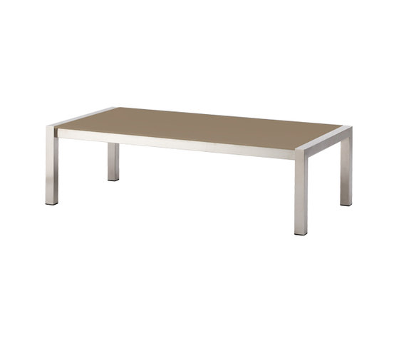 Share Coffee Table di Cane-line | Tavoli bassi da giardino