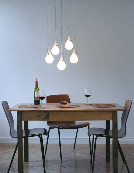 Liquid Light Drop 2 xs 5 Mini pendant light de next | Éclairage général