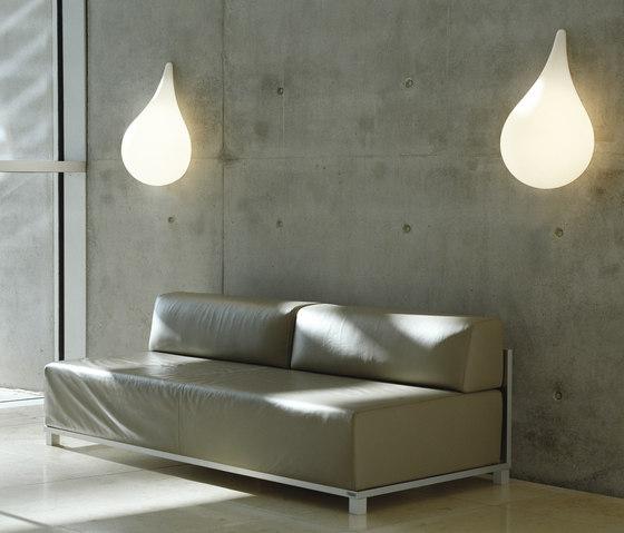 Liquid Light Drop 3 Wandleuchte von next | Allgemeinbeleuchtung
