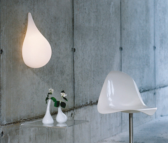 Liquid Light Drop small Wall light de next | Lámparas de pared