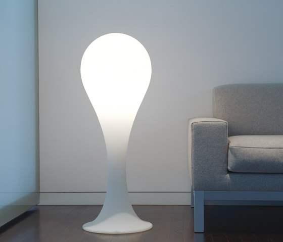 Liquid Light Drop 4 Floorlight de next | Free-standing lights