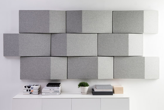 Triline Acoustical Wall Panel by Abstracta | Wall panels