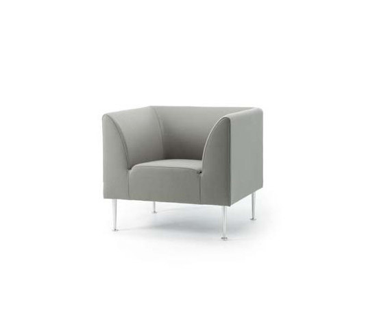 Cubo Easychair di Stouby | Poltrone lounge