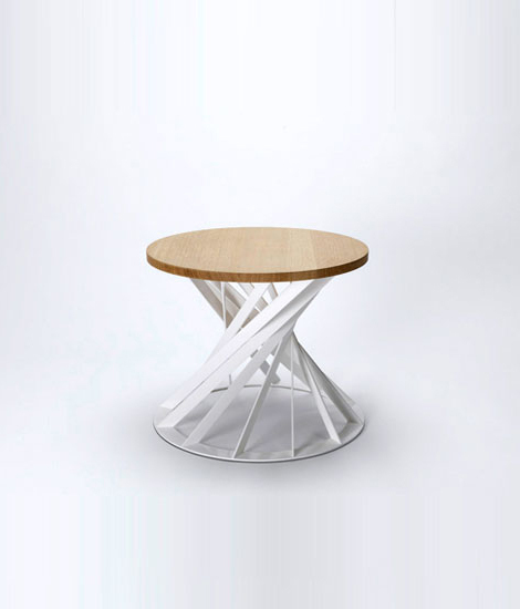 Twist table von Interni Edition | Couchtische