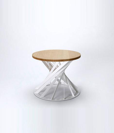 Twist table di Interni Edition | Tavolini salotto