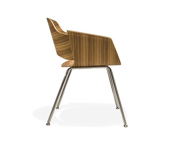 Paz Guest Chair Four Leg by Stylex | Visitors chairs / Side chairs
