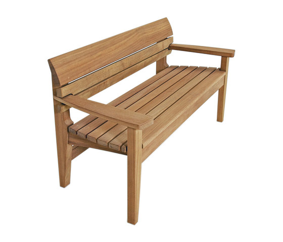 Chico Full Bench by Benchmark Furniture | Garden benches