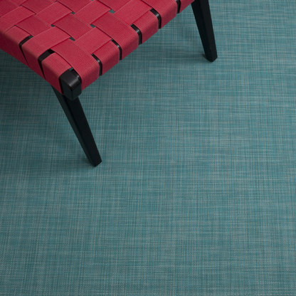 Mini Basketweave Turquoise by Chilewich | Rugs / Designer rugs