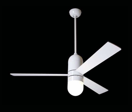Cirrus brushed gloss white with 352 light by The Modern Fan | Ceiling fans