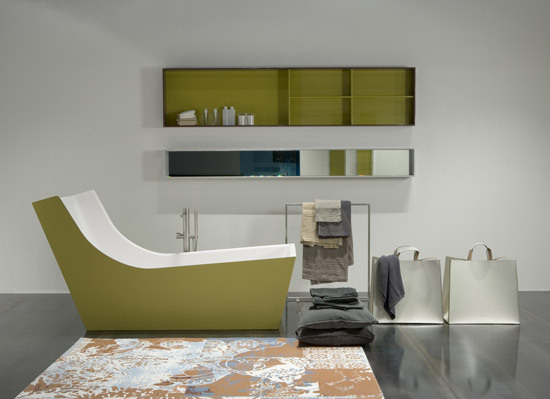Cuna tub by antoniolupi | Free-standing baths
