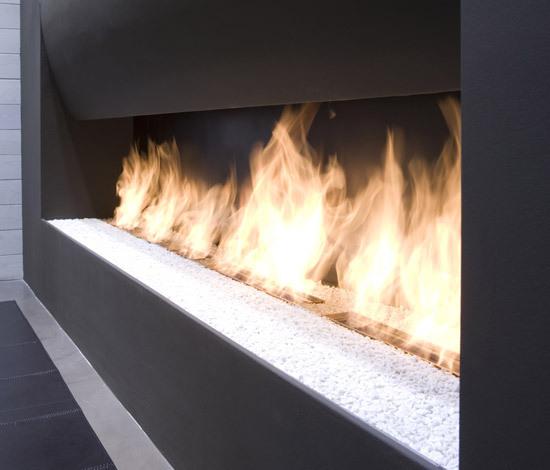 Il Canto Del Fuoco® by antoniolupi | Ventless ethanol fires