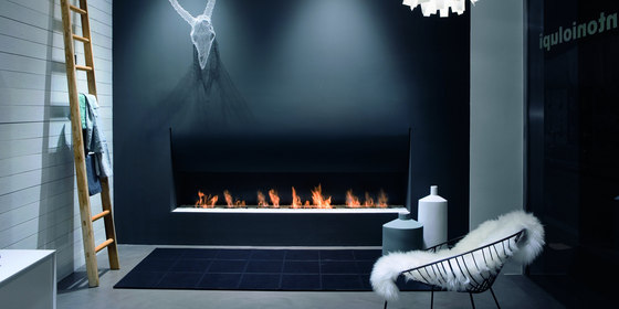 Il Canto Del Fuoco by antoniolupi | Ventless ethanol fires
