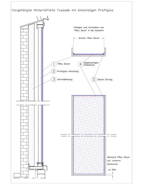 TIMax Decor von Wacotech | Fassadenbekleidungen