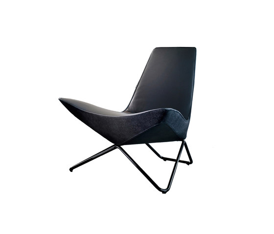 Black Series MYchair by Walter Knoll | Lounge chairs