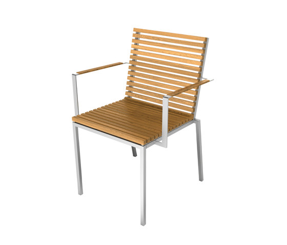 Home Collection Dining | Chair with Armrest by Viteo | Garden chairs