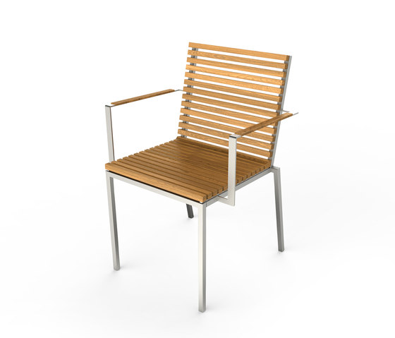 Home Chair with Armrest by Viteo | Garden chairs
