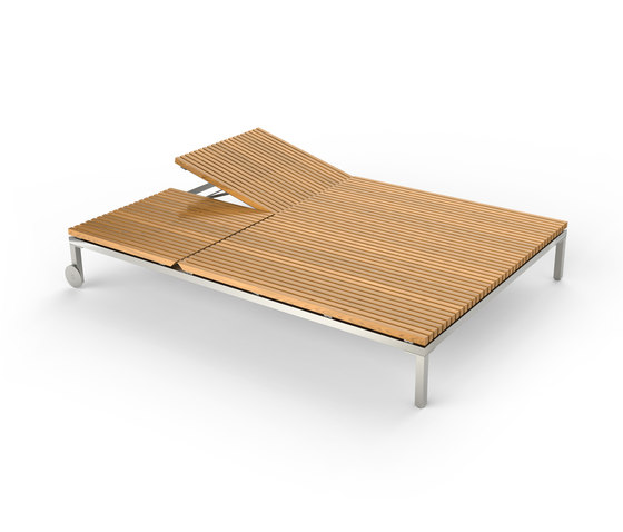 Home Double Sunlounger by Viteo | Sun loungers