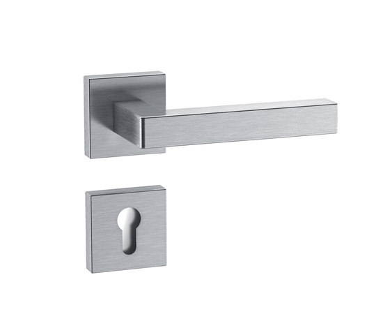 Standard door fitting design 101X by HEWI | Handle sets