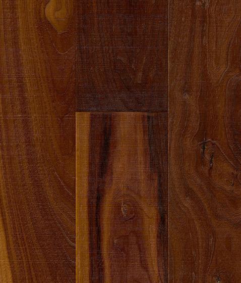 Hardwood American Walnut rustic by Admonter | Wood flooring