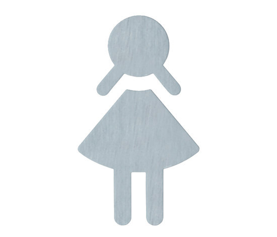 Symbol, female by HEWI | Toilet signs
