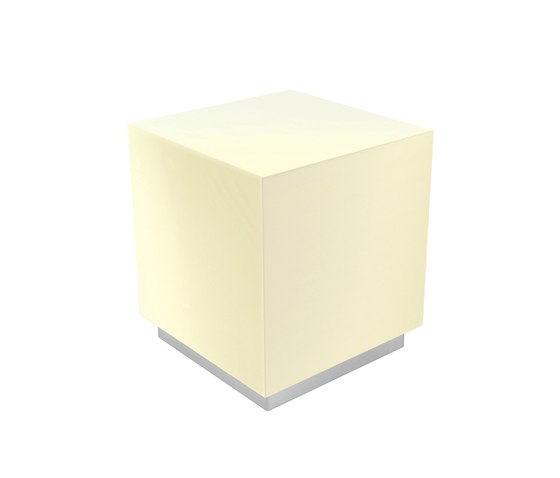 Light Collection | Light Cube Mono LED von Viteo | Außen Bodenleuchten